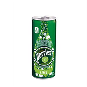 Perrier Slim Can Lime 250ml
