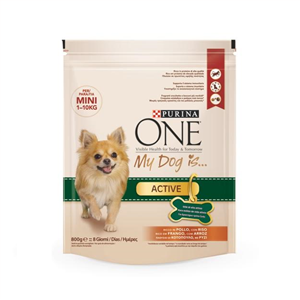 Purina ONE My Dog Is Active 800gr